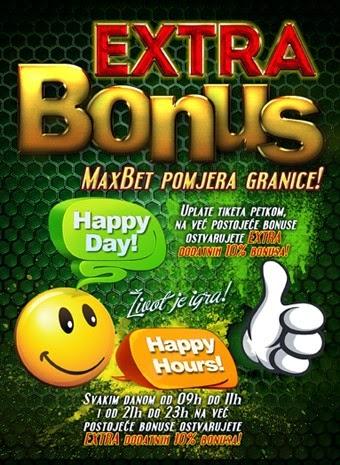 MaxBet bonus